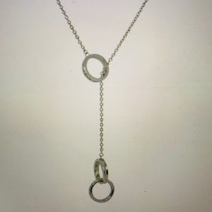 Tiffany & Co 1837 Interlocking Circles Lariat